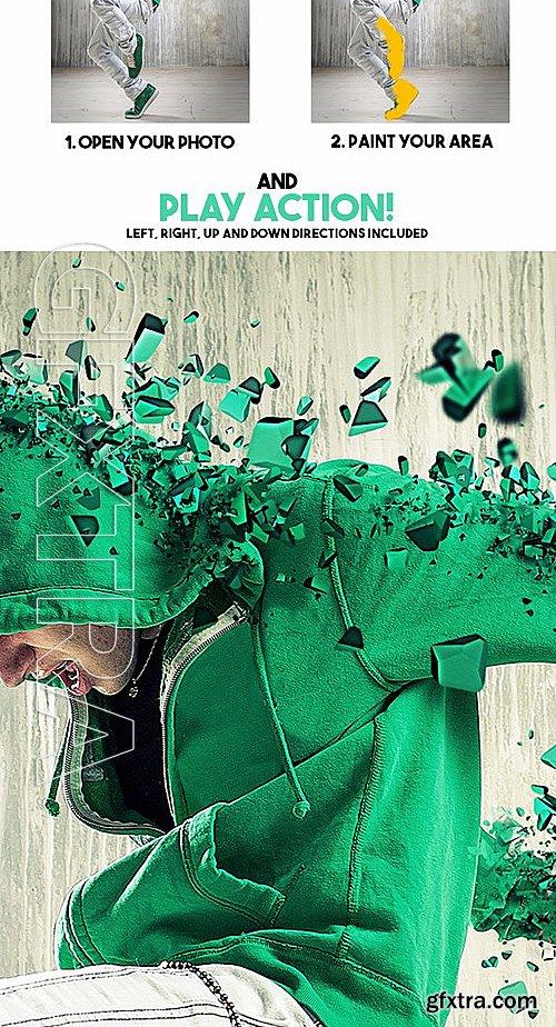 GraphicRiver - 3D Dispersion Photoshop Action 13556163