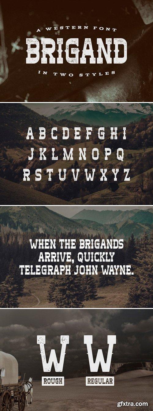 CM - Brigand Typeface 440530