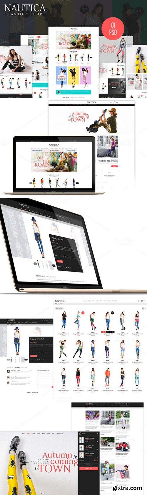 CM - Nautica - Fashion eCommerce PSD 441734