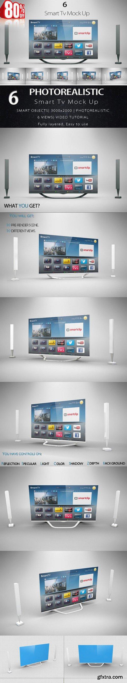 CM - Bundle Smart Tv Mock Up 440309
