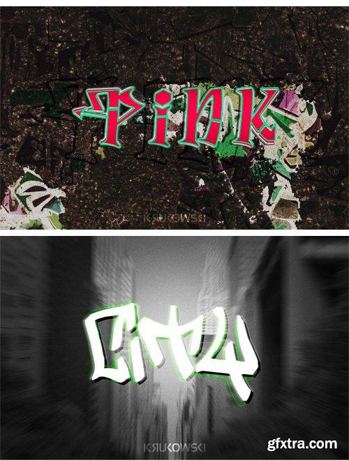 CM 246206 - Graffiti Text Effects