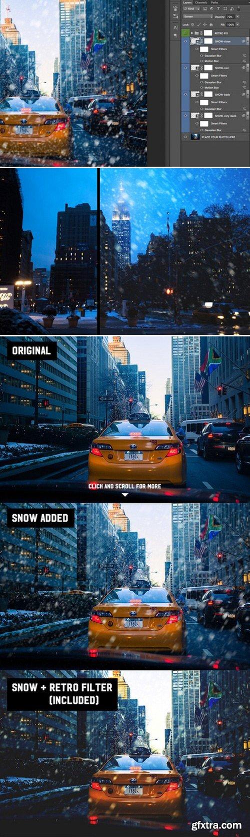 CM - Snowfall photo overlay 443238