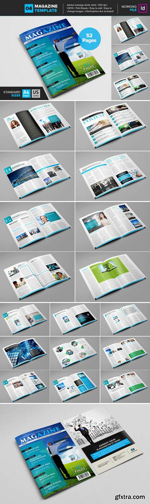 CM - Magazine Template 04 437838