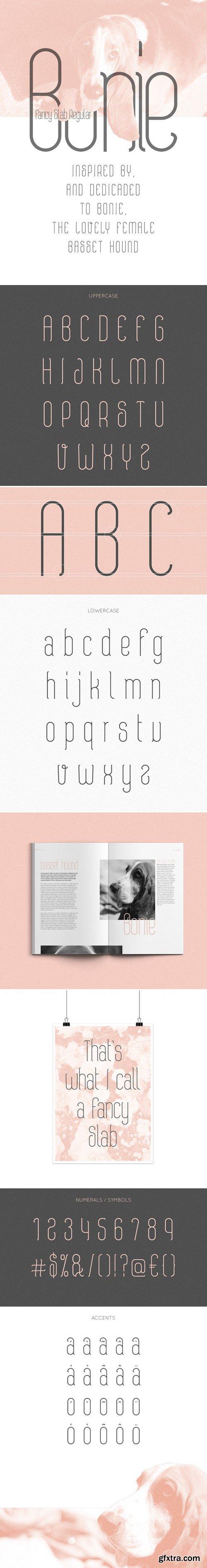 Bonie Typeface
