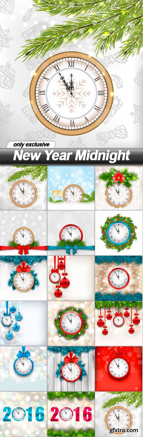 New Year Midnight - 17 UHQ JPEG