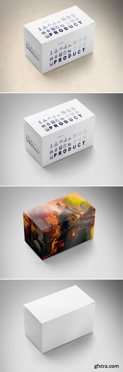 CM - Product Package Box Mock-Up 3 418189