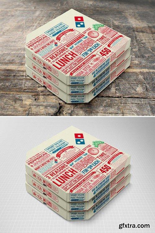 CM - Pizza Box Mock-up 418082