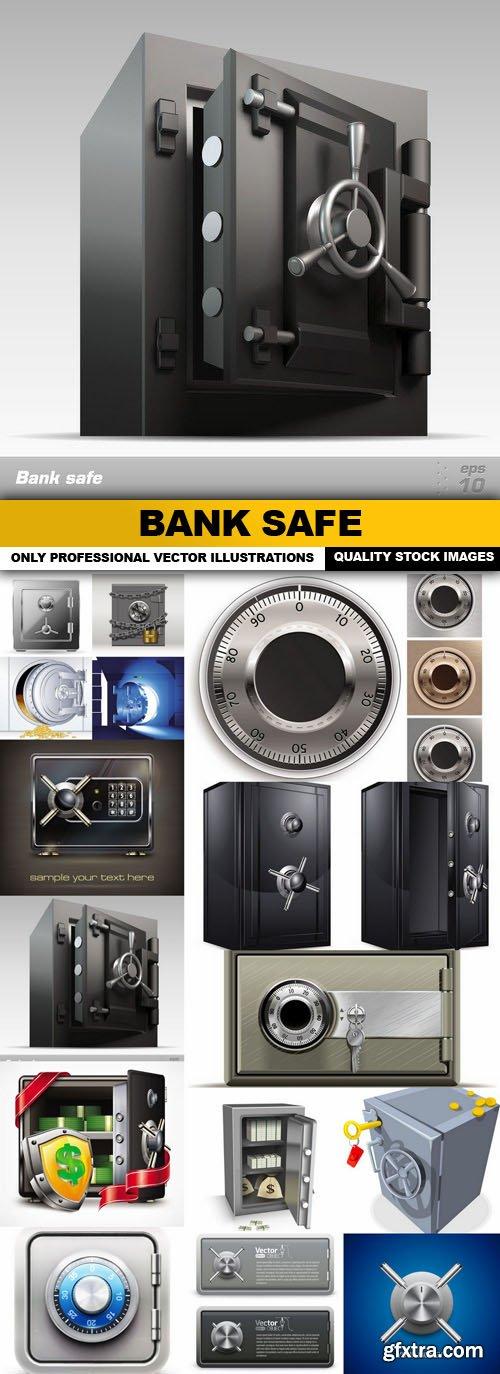 Bank Safe - 15 Vector