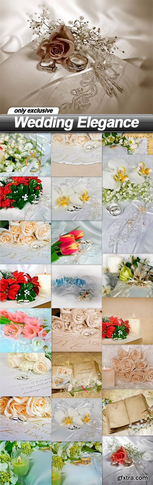 Wedding Elegance - 25 UHQ JPEG