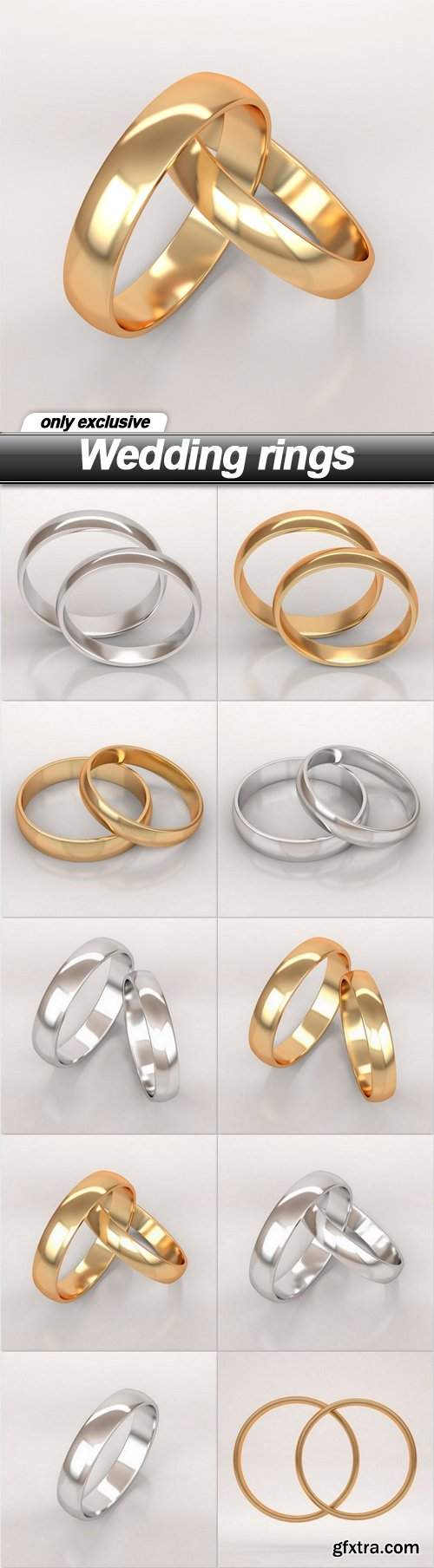 Wedding rings - 10 UHQ JPEG