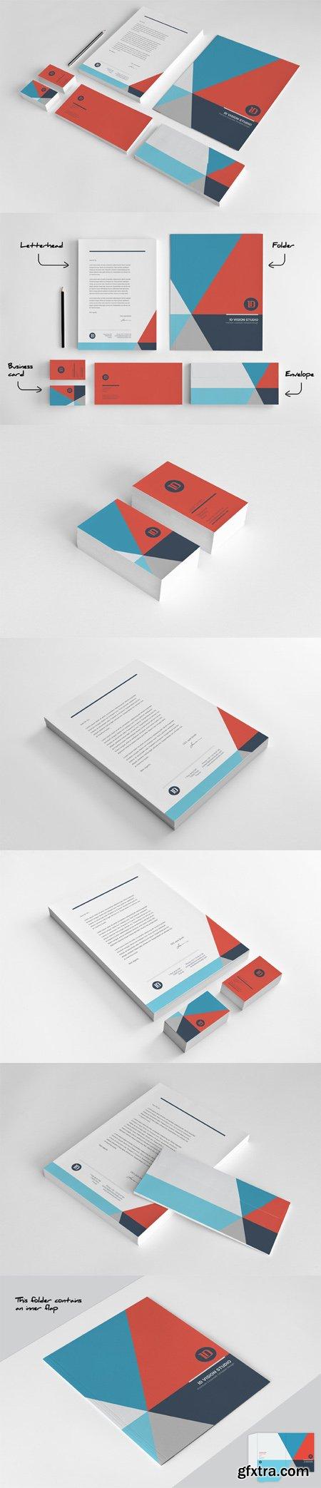 CreativeMarket - Stationery Corporate Identity 003 446454