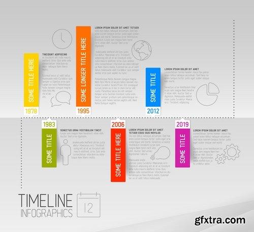 CM - Vector Timeline Template 367464