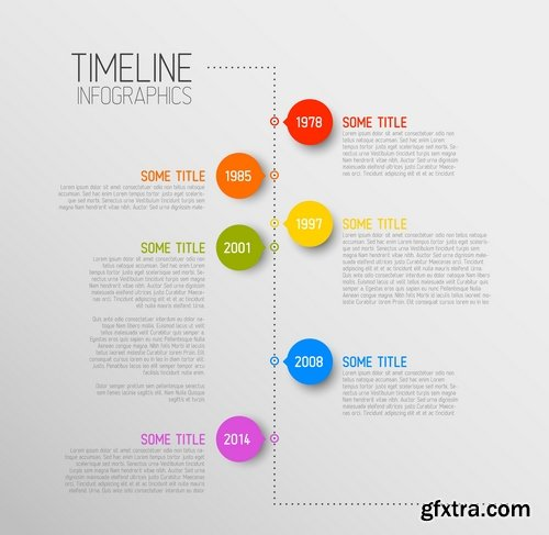 CM - Vector Timeline Template 367468
