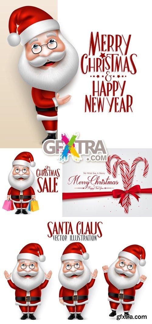 Santa Claus Vector 2