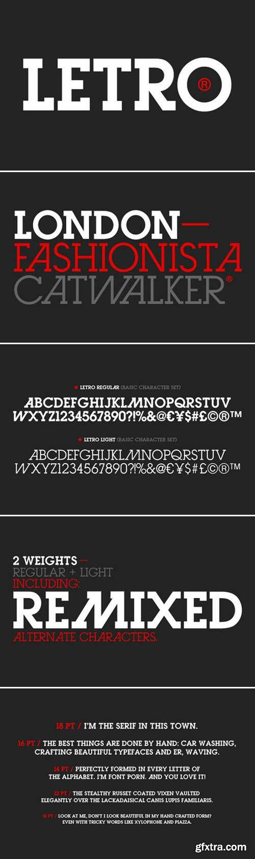CM - Letro (Regular & Light) 3419