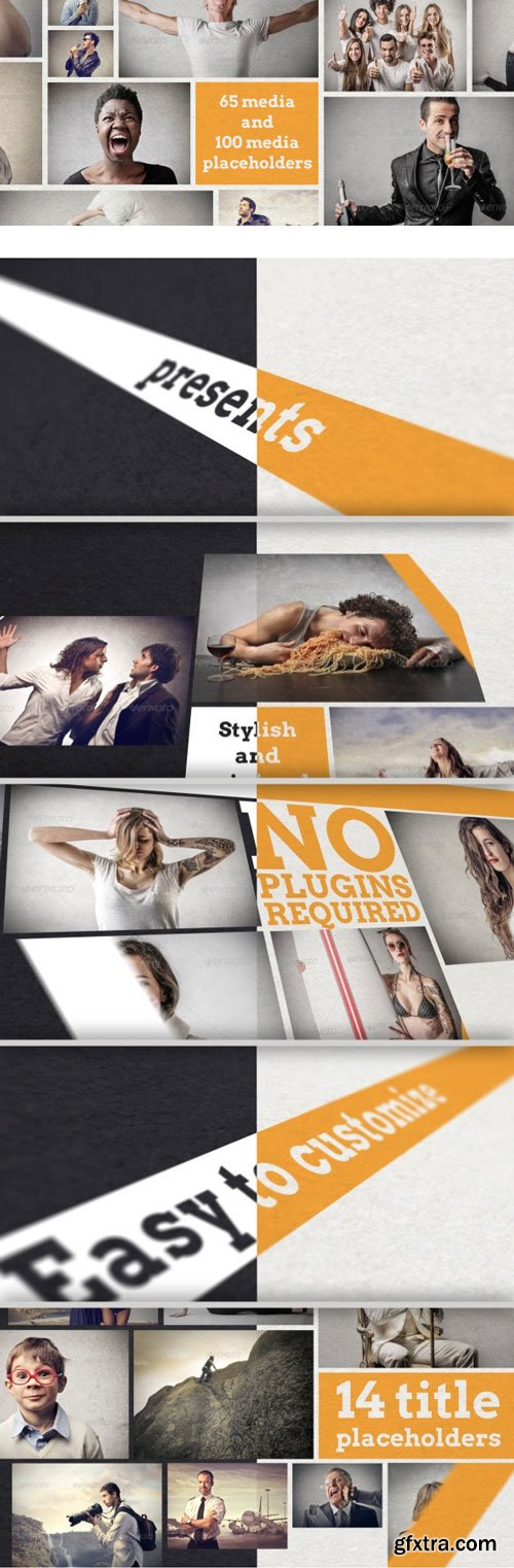VideoHive - Stylish Minimal Slideshow 7229123