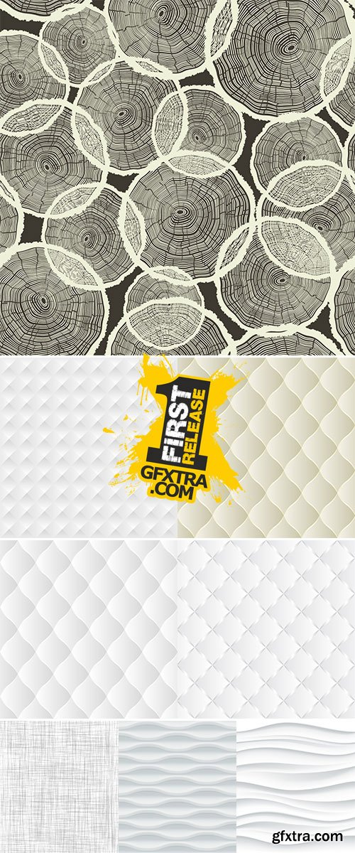 Stock White texture, seamless vector