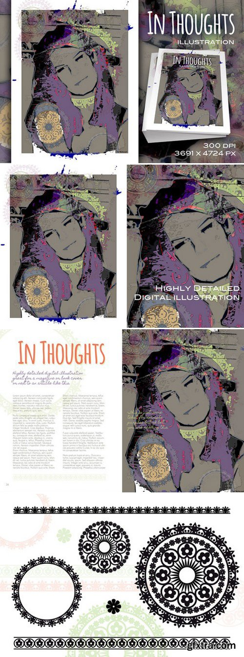 CM - In Thoughts illustration 223174