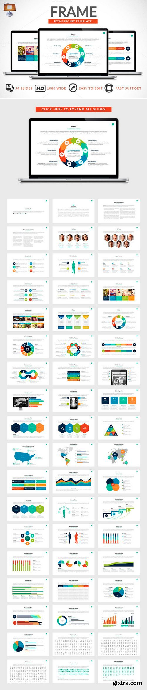 CM - Frame | Keynote Presentation 244952
