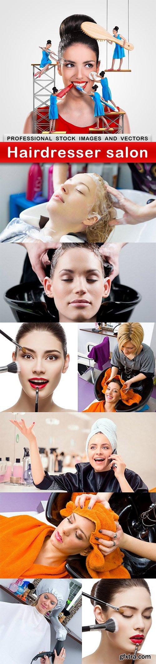 Hairdresser salon - 9 UHQ JPEG