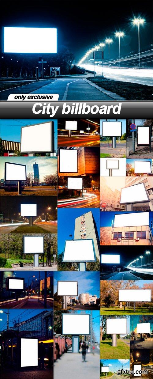 City billboard - 24 UHQ JPEG