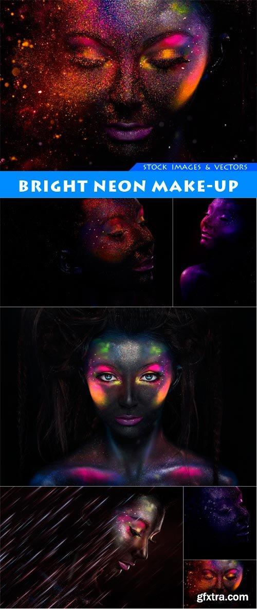 Bright neon make-up 6X JPEG