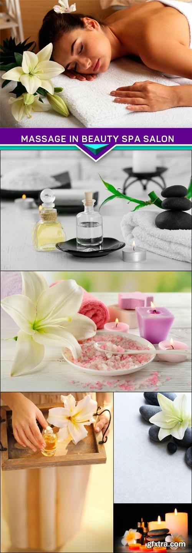 Young woman on massage in beauty spa salon  6x JPEG