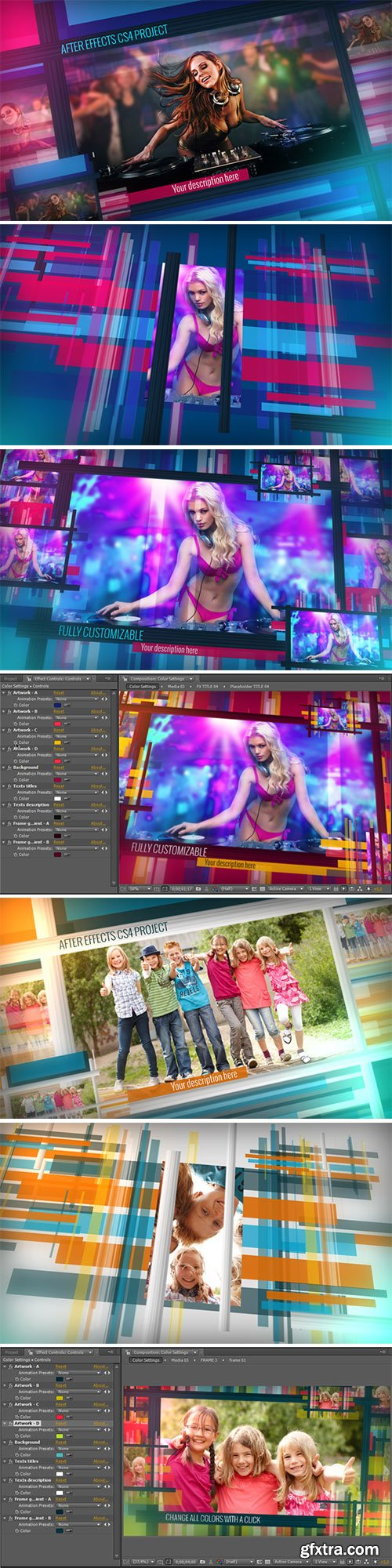 VideoHive - Chameleon Frames Photo Galleries 5100553