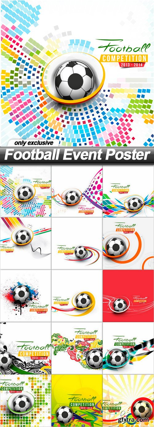 Football Event Poster - 15 EPS