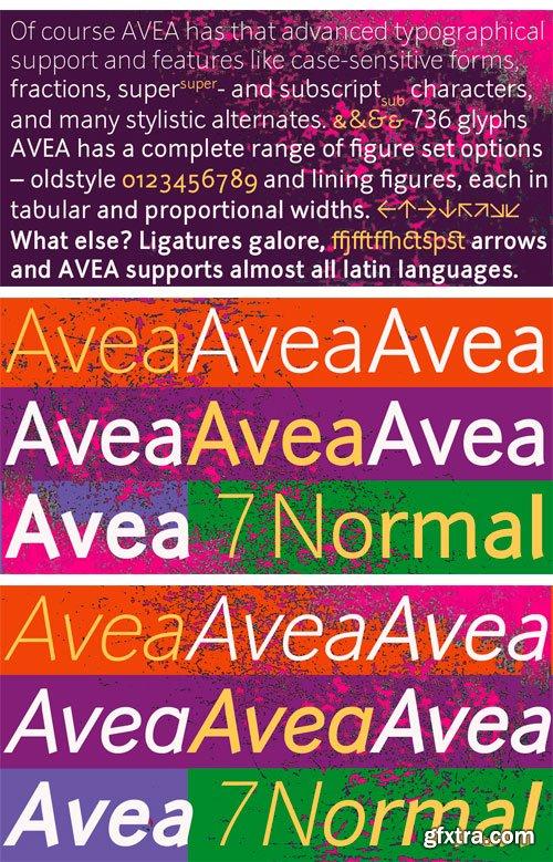 Avea Font Family