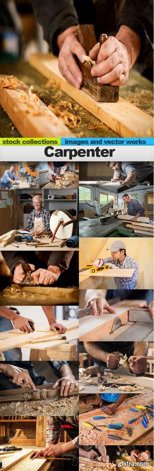 Carpenter, 15 x UHQ JPEG