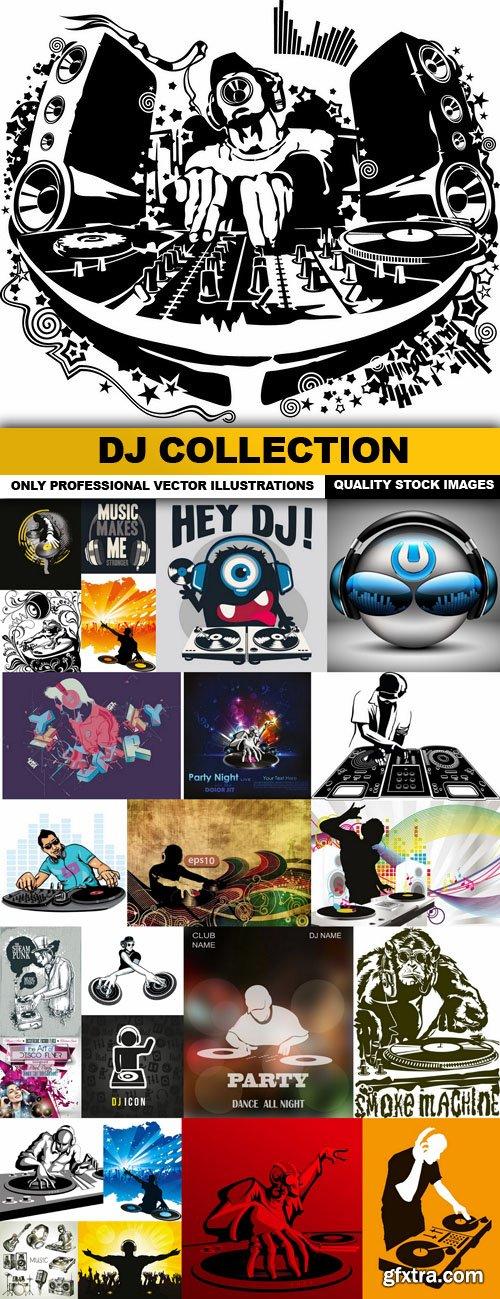 DJ Collection - 25 Vector