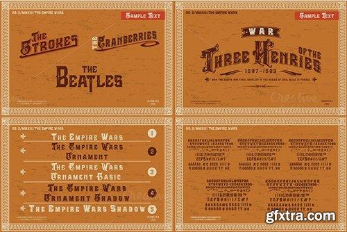 Creativemarket 5 Typeface Vintage Bundle 462809