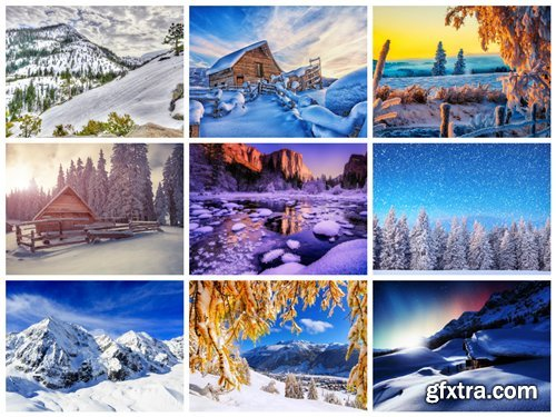 75 Winter Landscapes HD Wallpapers 3
