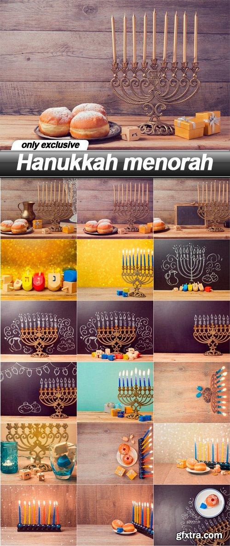 Hanukkah menorah - 18 UHQ JPEG