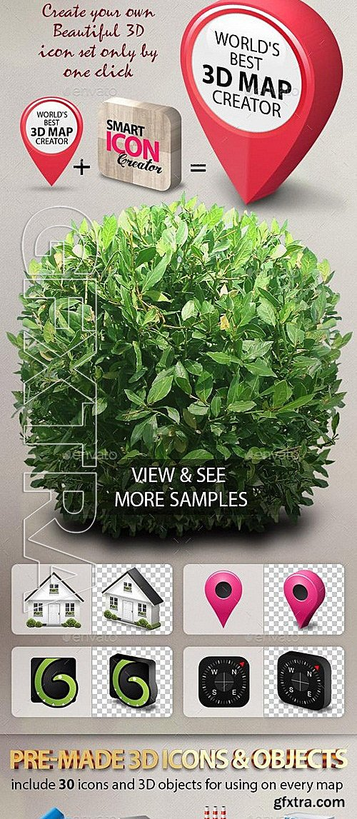 Graphicriver 3d map generator mockup v2 12120511 vector graphicriver 3d map generator mockup v2 12120511 gumiabroncs Gallery