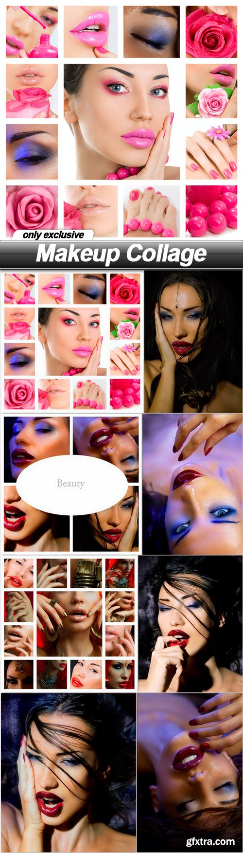 Makeup Collage - 8 UHQ JPEG