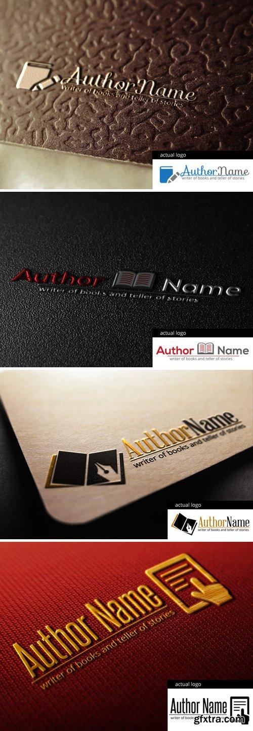 Author Logo - PSD & Vector Templates, part 1