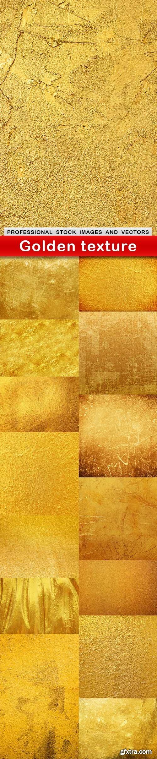 Golden texture - 15 UHQ JPEG