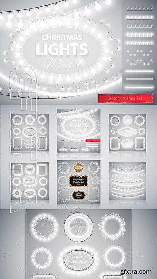 CM - White Christmas Lights Decorations 454513
