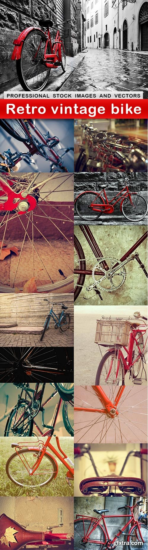 Retro vintage bike - 15 UHQ JPEG