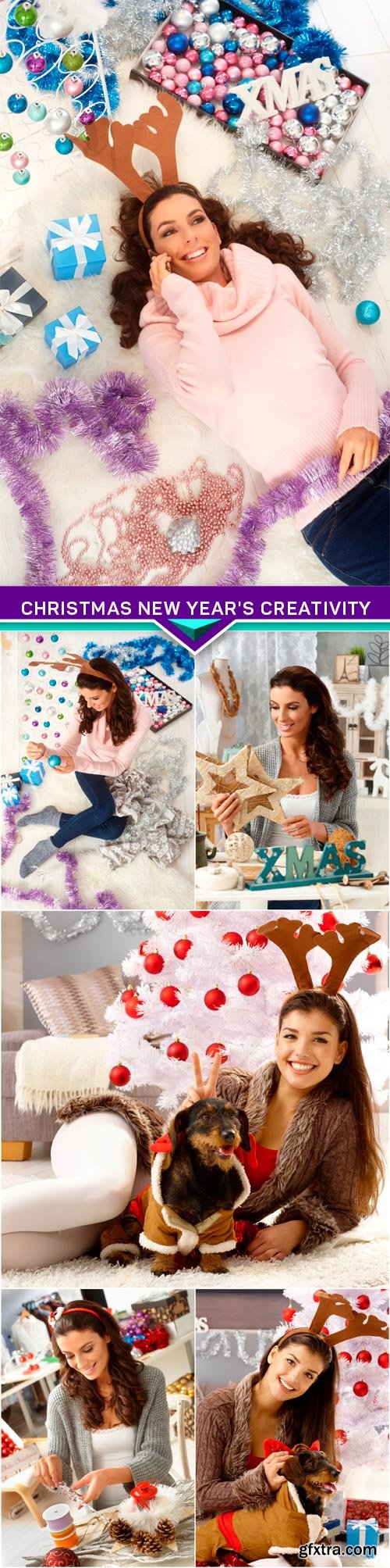 Christmas New Year's creativity 6x JPEG