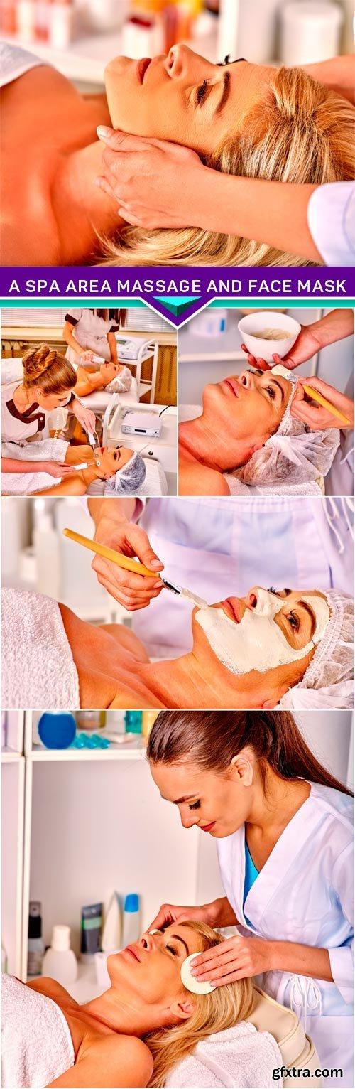 A spa area massage and face mask 5x JPEG