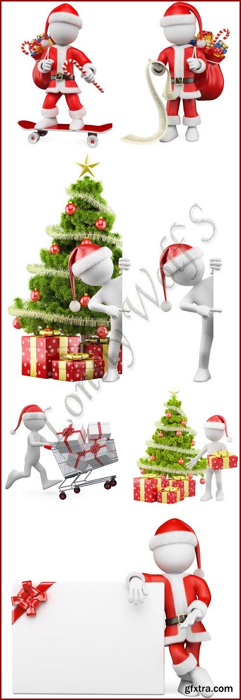 Santa ilustration- Stock photo