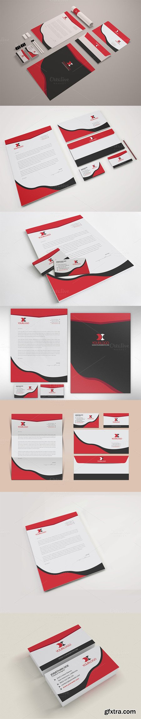 CM - Stationery Template 469430