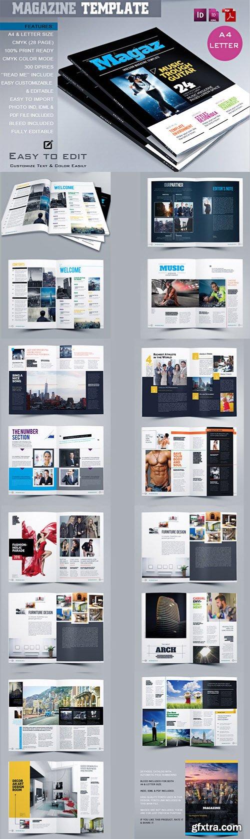 CM - MagazineTemplate 469882