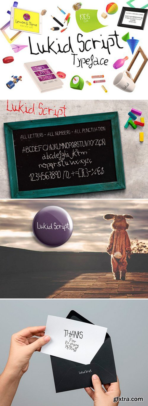 CM - Lukid Typeface 344517