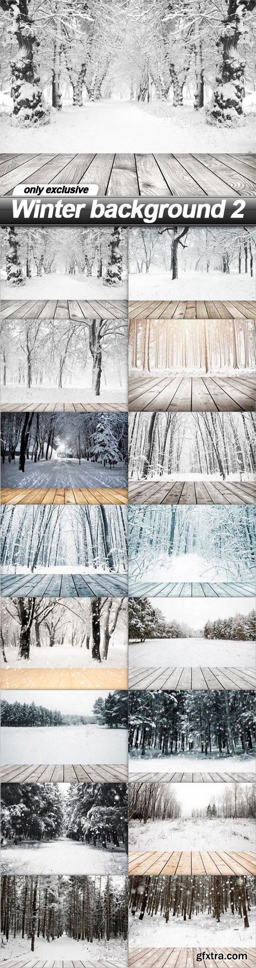 Winter background 2 - 16 UHQ JPEG