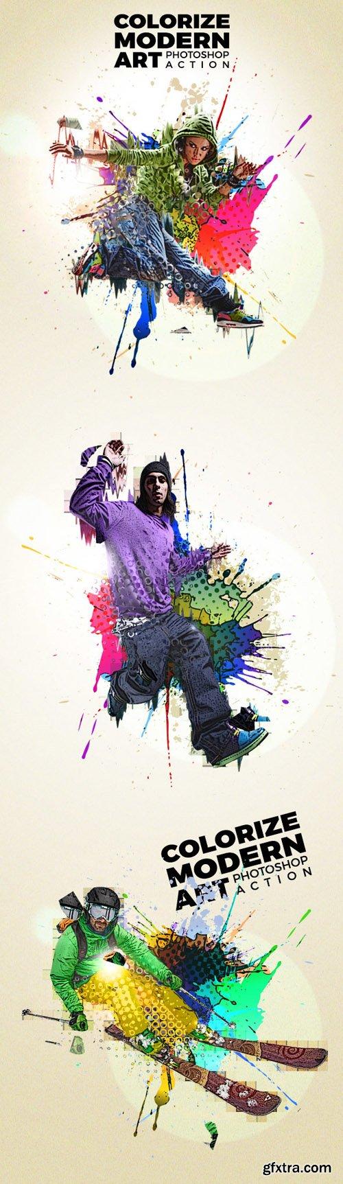 Graphicriver Colorize Modern Art Photoshop Action 14012929
