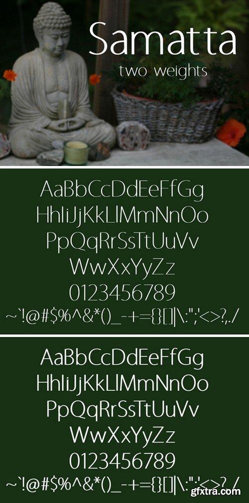CM - Samatta Display Fonts 471926